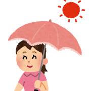 効果的な日傘の差し方・選び方/超基本だけど地味に重要なこと